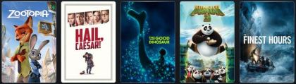 July 2016 – G-PG rated titles available – click for full list