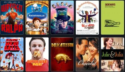 Food & wine films - our list on Letterboxd