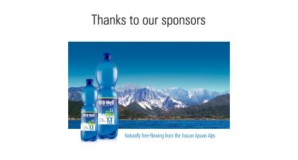 Sponsor slide example
