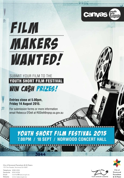 Youth Short Film Festival - Call For Film Makers Poster