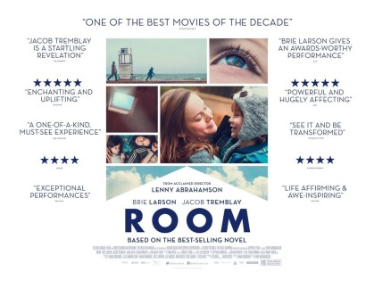 "'An examination of parenting and survival, Lenny Abrahamson's ""Room"" is a powerful, riveting drama. With two searing performances, the film is at once the story of a mother trying to educate, nurture, and protect her son and an allegory of sacrifice and abuse.' To read the full ★★★★ review by Travis Lytle on Letterboxd click on the poster above"