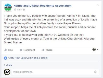 NDRA Facebook