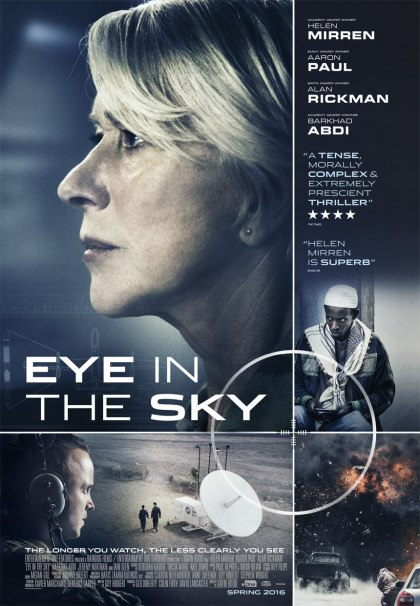'This really is a fantastically constructed film in that it intercuts multiple locations around the world without ever losing focus or intensity. It's easily the best film about drone warfare yet, although I'm not sure the great film on that subject has yet to be made.'– To read the ★★★1/2 review by Brian Tallerico on Letterboxd click on the poster above